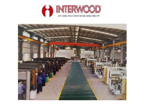 Interwood can manufacture any size Press heated or cold up to 400 Tonne pressure