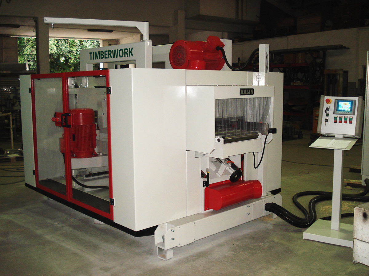 Timberwork 4 Sided Planer | Woodworking Machinery - Allwood