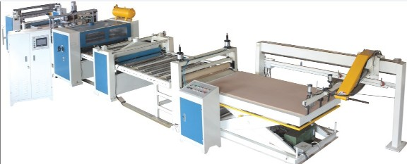 INTERWOOD HS PUR2 1400 Automatic Laminating Line
