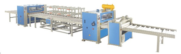 INTERWOOD HS PUR1 1400 Semi-Automatic Laminating Line